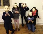 Orbit Shed Masks Actors